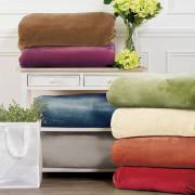 Κουβέρτα μονή σε 10 χρώματα 1,60x2,20cm