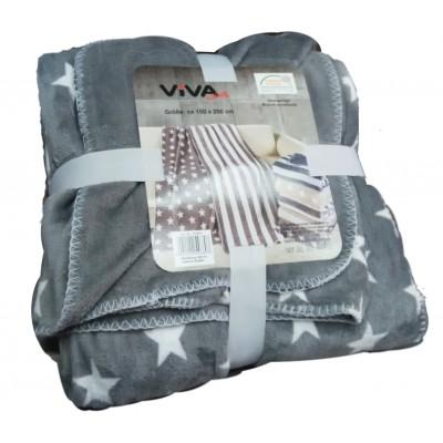 Κουβέρτα μονή 1,50x2,00 δύο όψεων 102133
