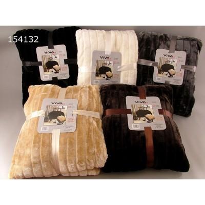 Κουβέρτα γούνα υπέρδιπλη 2,20x2,40