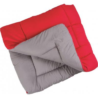 Πάπλωμα μονό διπλής όψης 1,60x2,20cm κόκκινο/γκρι