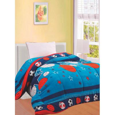 Πάπλωμα fleece μονό παιδικό 1,50x2,00m D302