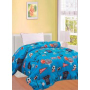 Πάπλωμα fleece μονό παιδικό 1,50x2,00m D303