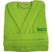 Μπουρνούζι παιδικό βαμβακερό Πράσινο
