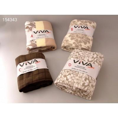 Κουβέρτα fleece ημίδιπλη 1,75x2,25