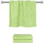 Πετσέτα προσώπου πράσινη 50x90 cm, Σειρά Comfort, 500gr/m², Πενιέ, Fennel