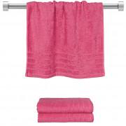 Πετσέτα προσώπου φούξια 50x90 cm, Σειρά Comfort, 500gr/m², Πενιέ, Fennel