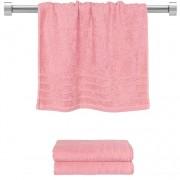 Πετσέτα προσώπου ροζ 50x90 cm, Σειρά Comfort, 500gr/m², Πενιέ, Fennel