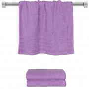 Πετσέτα προσώπου μωβ 50x90 cm, Σειρά Comfort, 500gr/m², Πενιέ, Fennel