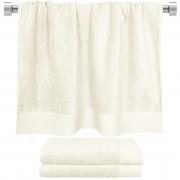 Πετσέτα μπάνιου εκρου 80x150 cm, Σειρά Premium , 600gr/m², Πενιέ, Fennel
