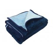 Κουβέρτα Ακρυλική Double Face Μονή 160Χ220 KB1A_BLUE