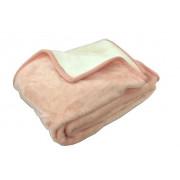 Κουβέρτα Ακρυλική Double Face Μονή 160Χ220 KB1A_PINK